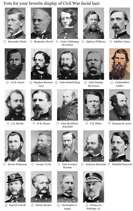 civil war facial hair examples