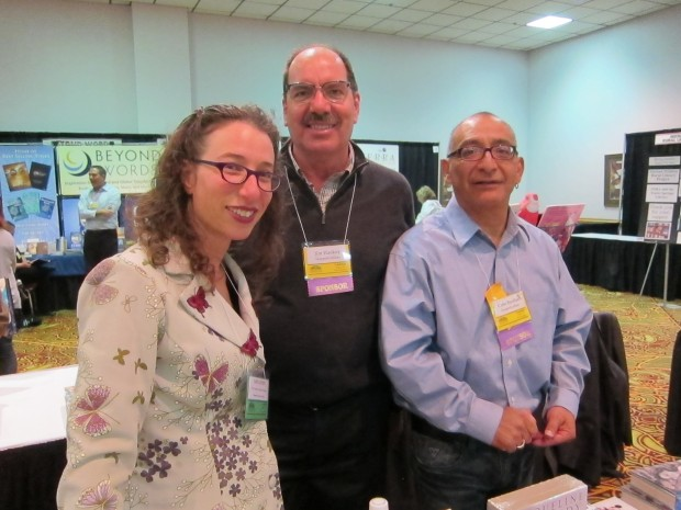 Lois Leveen, Gabe Barillas, and Jim Hankey
