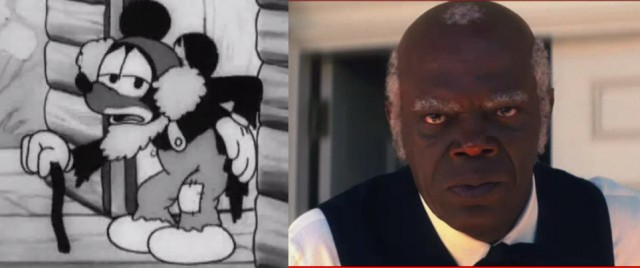 MIckey Mouse as Uncle Tom
