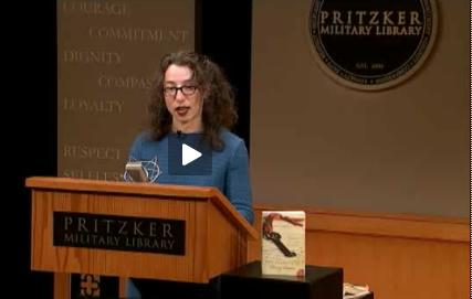 Lois at the Pritzker podium