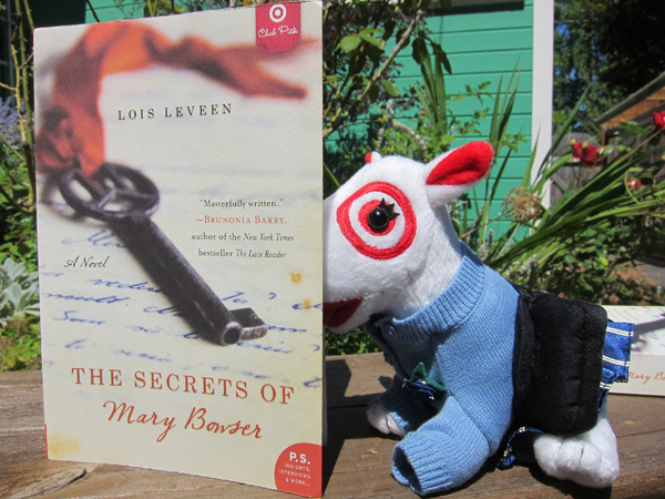 Target Dog Reading The Secrets of Mary Bowser